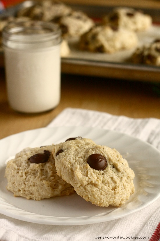 Chocolate Chip Buttermilk Scones from JensFavoriteCookies.com