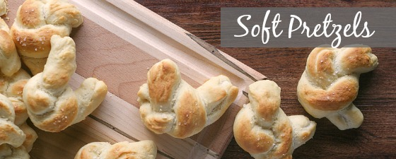 soft baked pretzels recipe