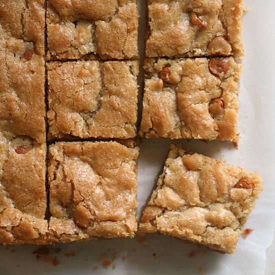 Butterscotch Blondies Jen S Favorite Cookies