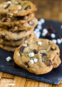 brown-butter-cinnamon-smores-cookies
