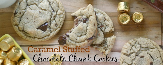 rolo-stuffed-chocolate-chip-cookies