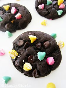 Triple-Dark-Chocolate-Cookies-SimplyGloria.com-chocolate-cookies