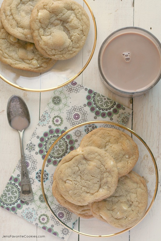 White Chocolate Macadamia Nut Cookies from JensFavoriteCookies.com - they're oversized and fabulous!