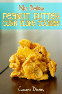 no-bake-peanut-butter-corn-flake-cookies