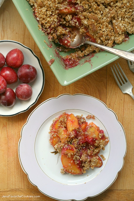 ... peach salsa peach and plum crisp recipe yummly peach plum and apricot