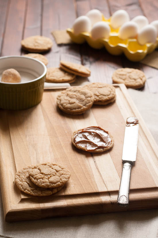 Dulce de Leche Cookies from JensFavoriteCookies.com - They have a great caramel flavor, and you can sandwich them with extra dulce de leche.