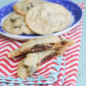 Fudge Filled Walnut Cookies from JensFavoriteCookies.com