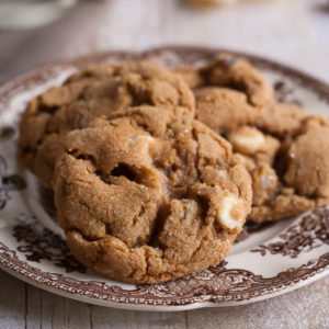 White Chocolate Cranberry Ginger Cookies from JensFavoriteCookies for #cookieweek