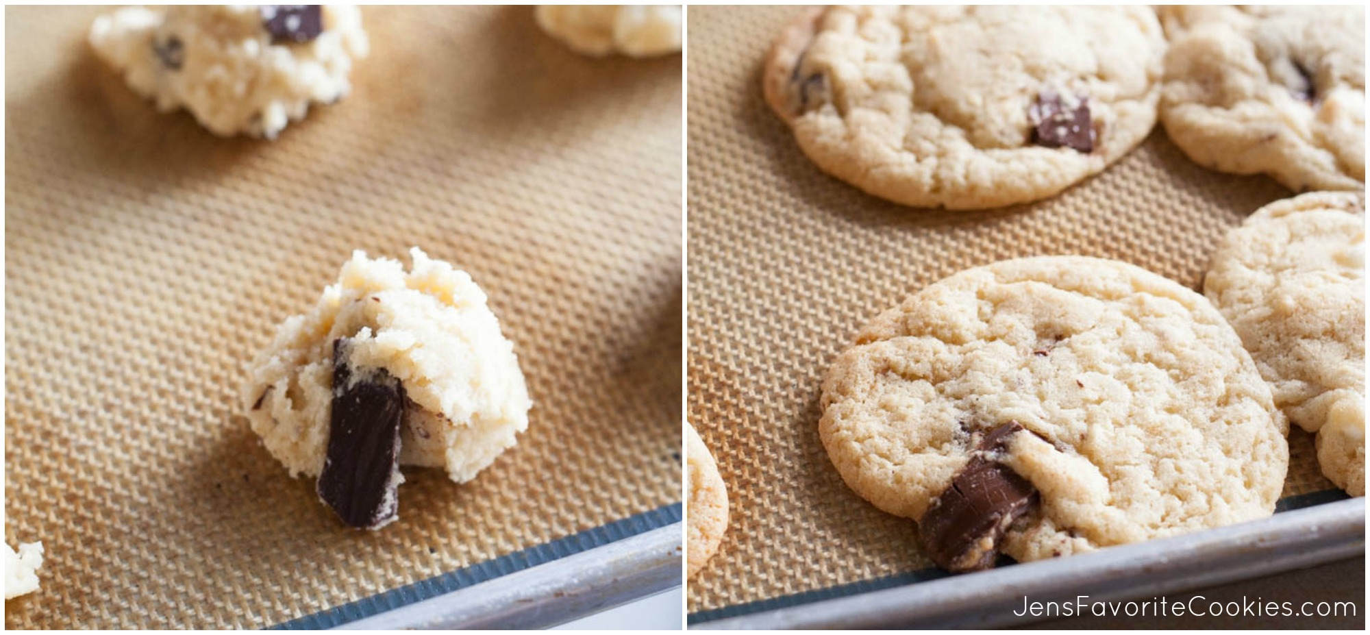 plain-chocolate-chip-cookies-collage