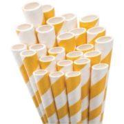 paper-straws-bright-yellow