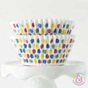 Circus Dots Cupcake Liners
