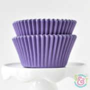 Purple Solid Cupcake Liners