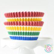 Circus Stripe Cupcake Liners