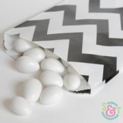 Black Chevron Goodie Bags