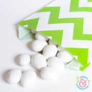 Lime Chevron Goodie Bags