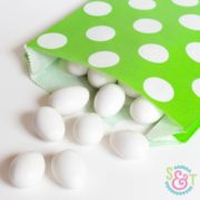 Lime Dots Goodie Bags