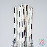 sweetsandtreats-paper-straws-angle-stripe-silver-foil-wm