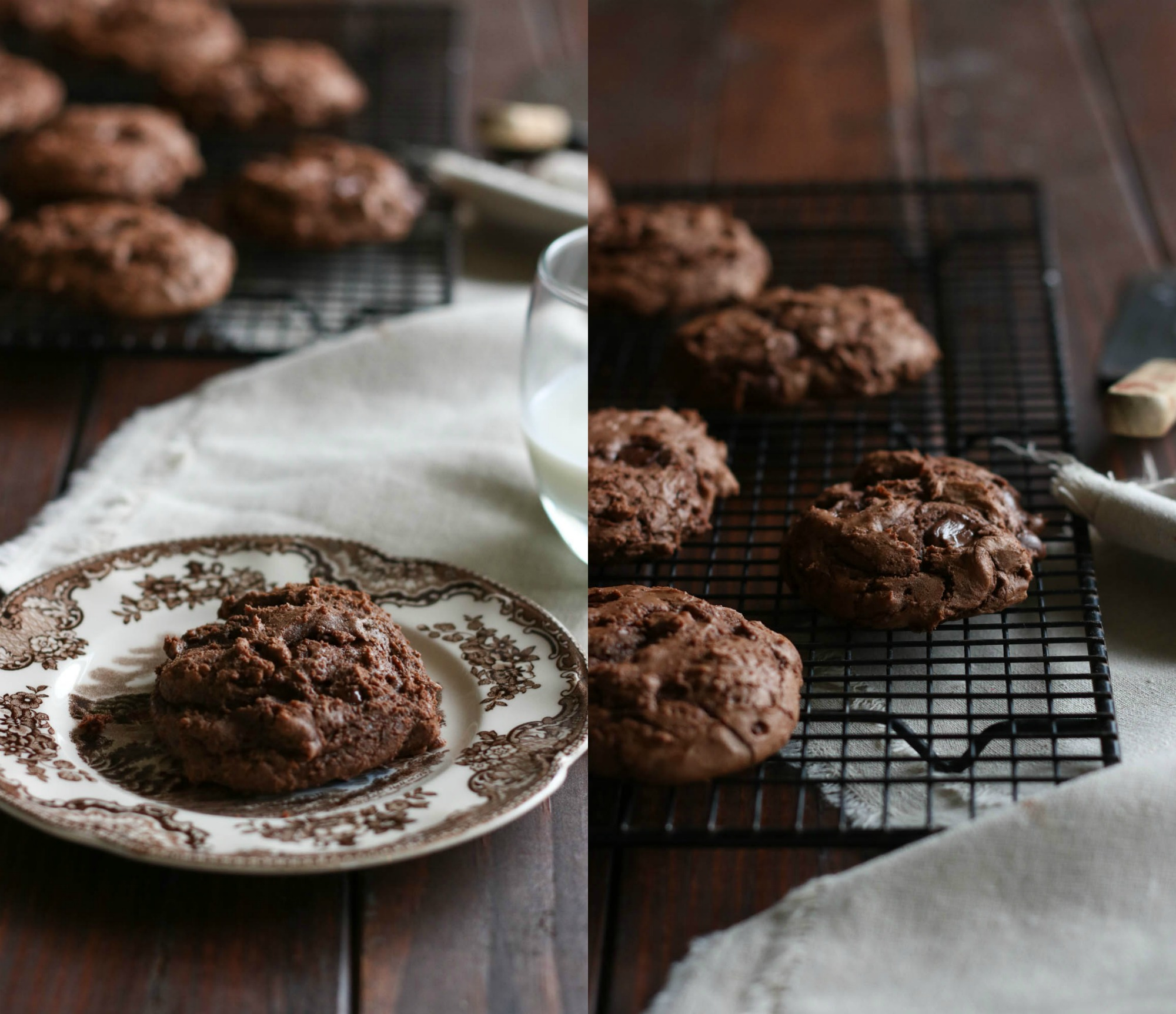 chocolate-fudge-cookies